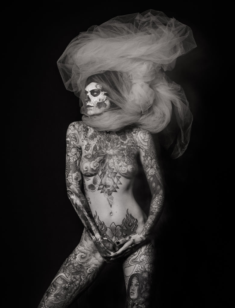 Photographer Reka Nyari Brings Her Primal 'Ink Stories' to BlackBook Presents Gallery in January