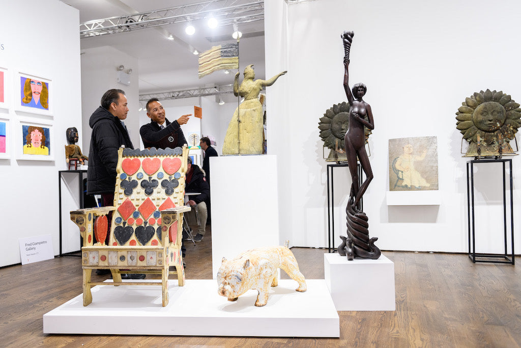 Exclusive Images: BlackBook's Faves From the 2019 Outsider Art Fair