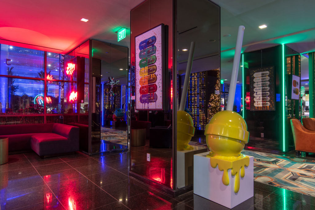 Hotel Art Gets Cheeky: The Cool HeART Gallery Curates a New Collection at the Sofitel Los Angeles
