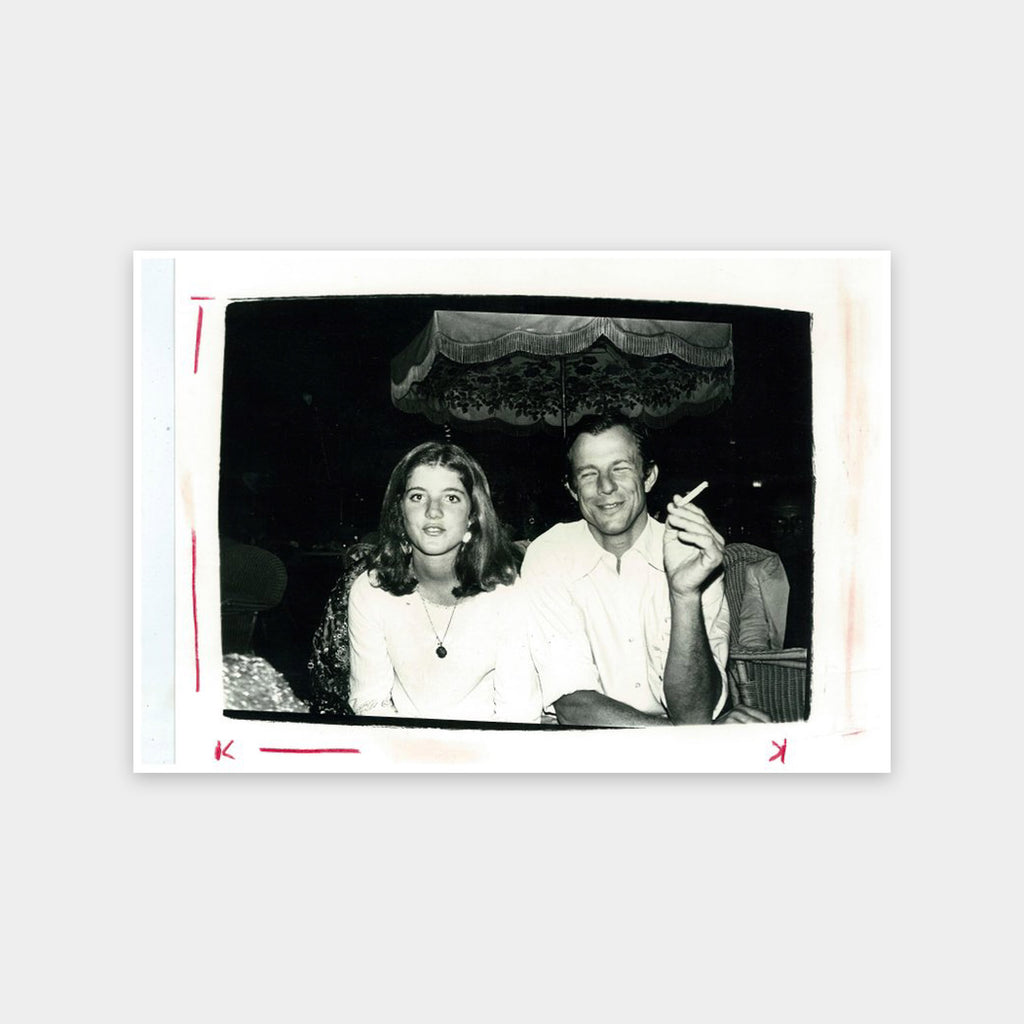 Andy Warhol, Caroline Kennedy with Peter Beard, circa 1975