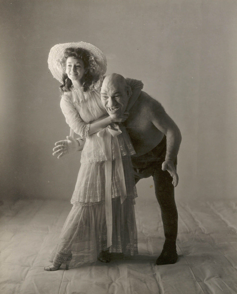 Irving Penn, Dorian Leigh and Maurice Tillet, ca. 1945