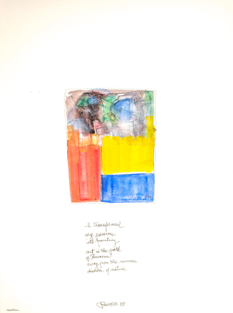 John Ransom Phillips, Mondrian: I transformed...