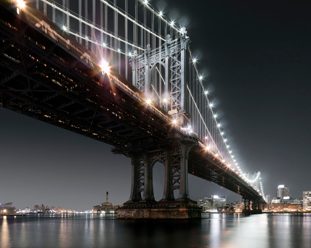 Luca Campigotto, Manhattan Bridge, 2007