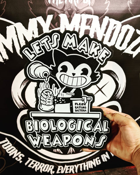 Let's Make Biological Weapons - Cutout