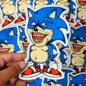 Chronic The Hedgehog - Sticker