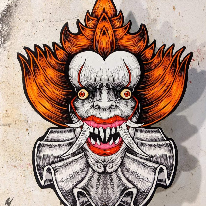 Pennywise Oni - Cutout