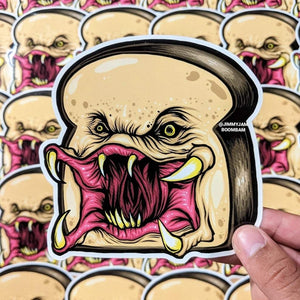 Breadator - Sticker