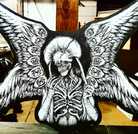 The Angel Of Death - Cutout