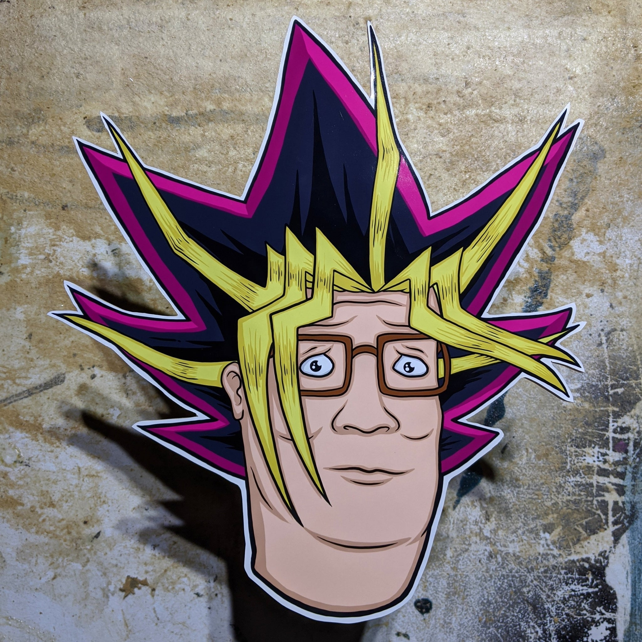 Yugi Hill - Cutout