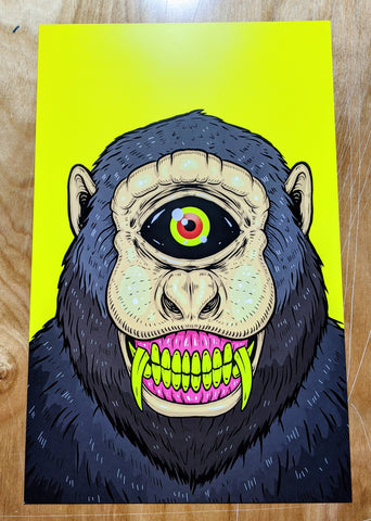 Simon The Yeti - Print
