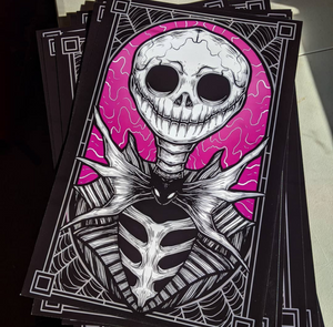 Pumpkin King - Print