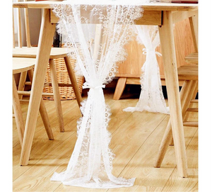 Floral Lace Table Runner/ Chair Sash