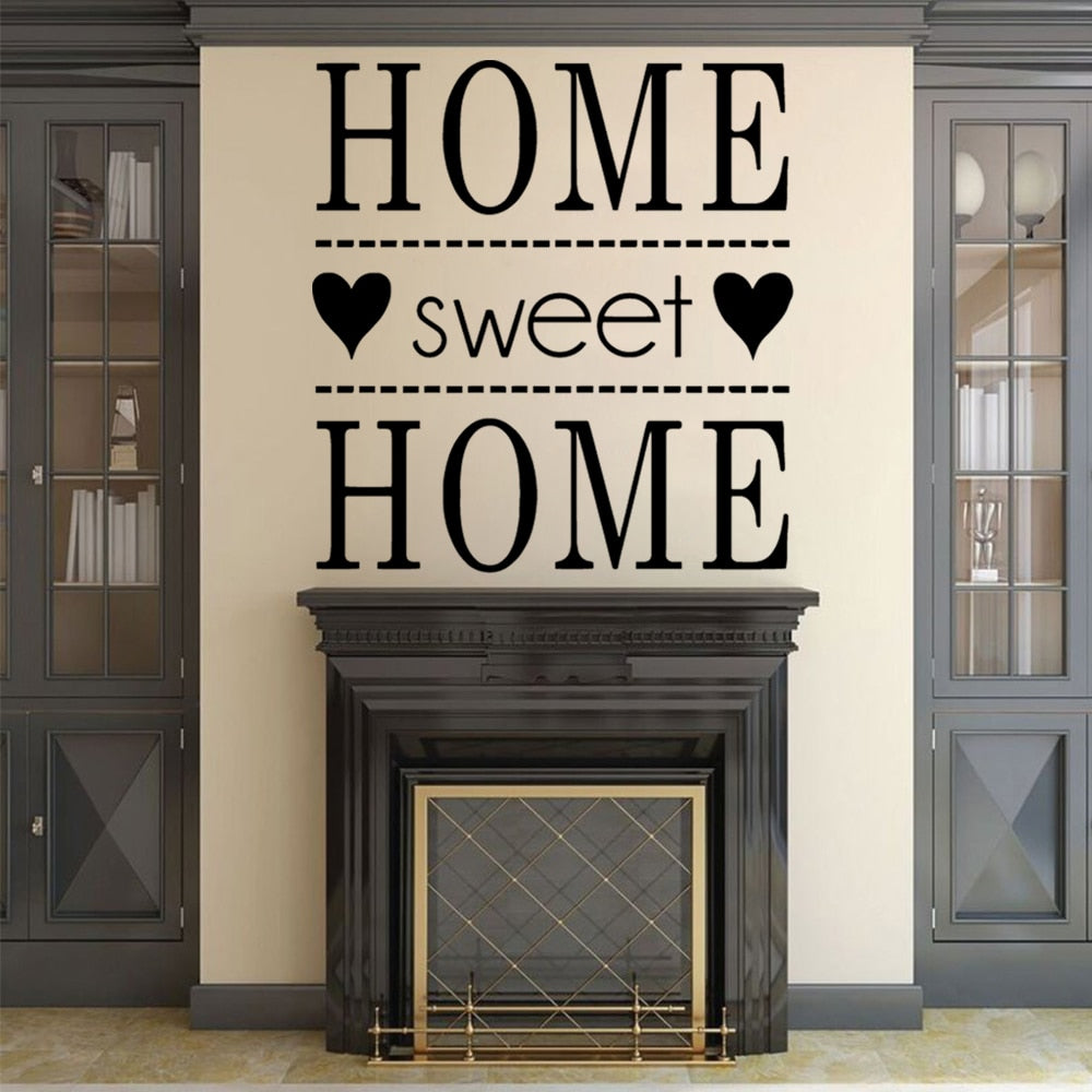"""Home Sweet Home"" Wall Decal"