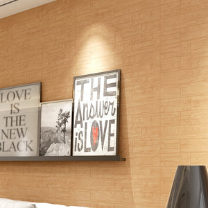 3D Stone Wall Stickers  DIY  Wall Panels (8 pcs)