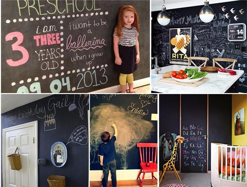 Removable Chalkboard/ Blackboard Wall Stickers