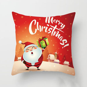 Christmas Decorative Pillows Cover
