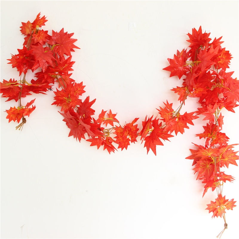 Autumn Leaves Vine Faux Foliage Holiday Decorations Ideas Home Decor ideas