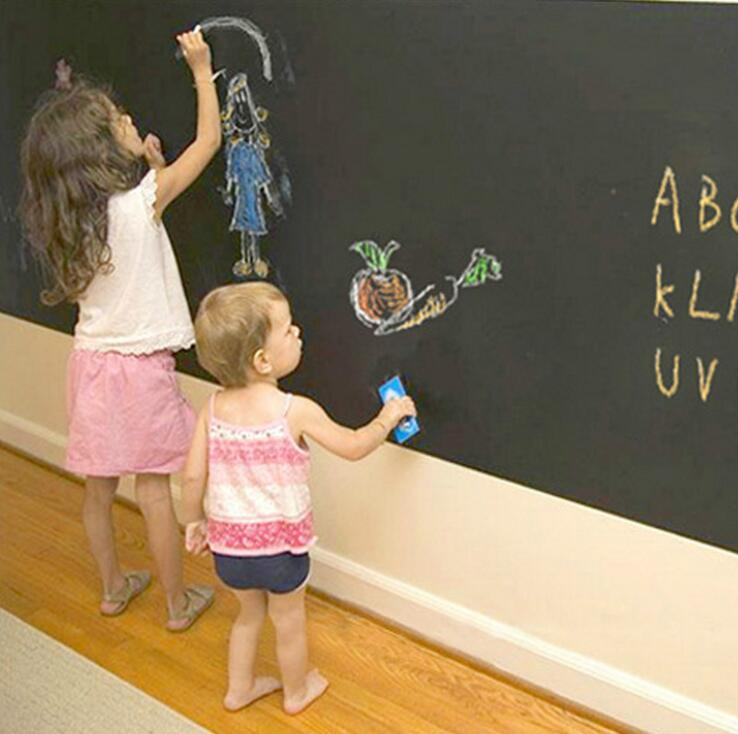 Creative Removable Chalkboard/ Blackboard Wall Stickers Home Decor
