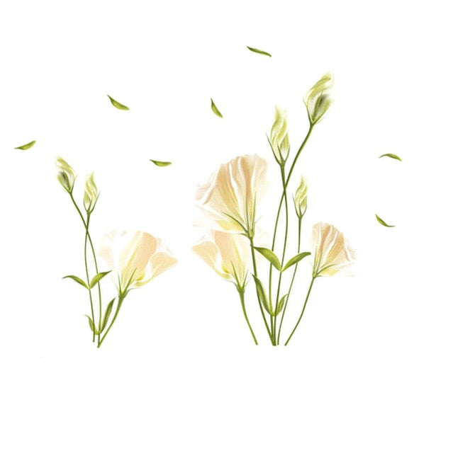 Lily Floral Wall Stickers