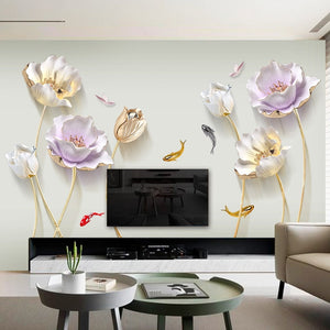 Elegant  Floral Wall Sticker