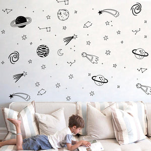 Space Adventure Wall Sticker
