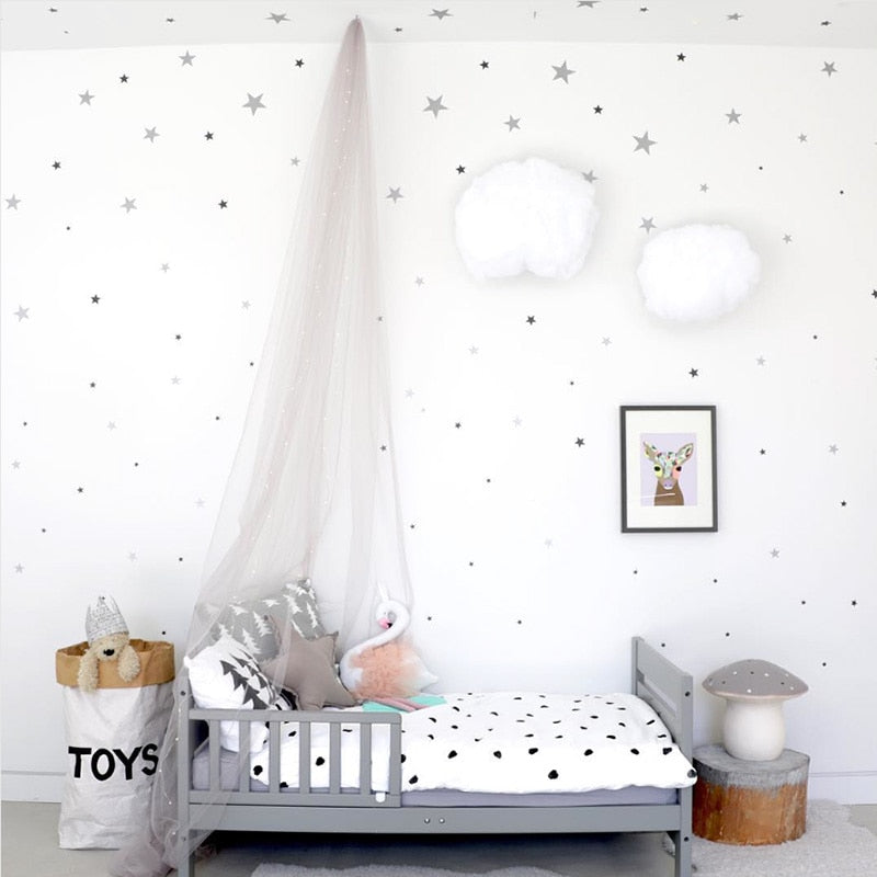 Star Wall Stickers Nursery Decor