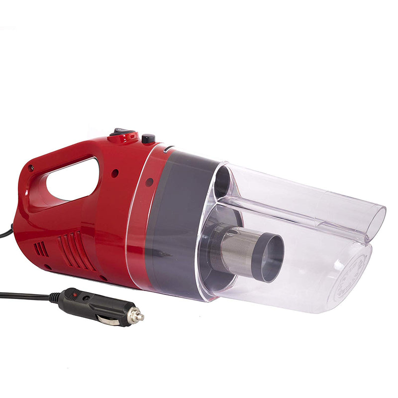 iGRiD Handheld Car Vacuum Cleaner with Stainless Steel HEPA filter (Red) | BL1010-R |