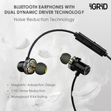 iGRiD-Magic in-Ear Wireless Bluetooth Earphones with Mic (Black) | IG-8202 |