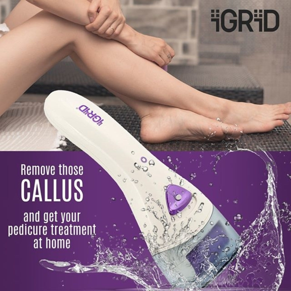 iGRiD Rechargeable Pedicure Device| Callus & Dead Skin Remover | Feet Care | IG-1090 |