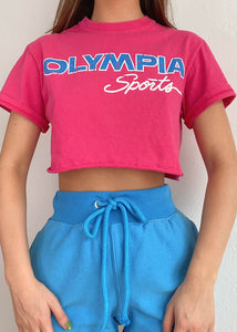 Hot Pink Olympia Tee