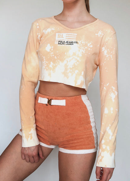RL Creamsicle Crop