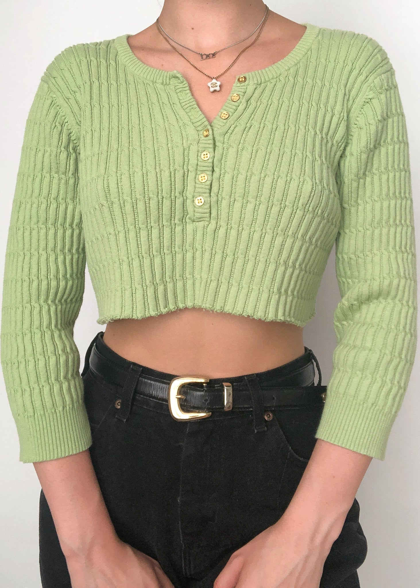 90's Lime Sweater
