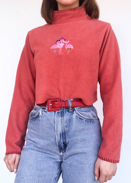Flamingo Party Fleece