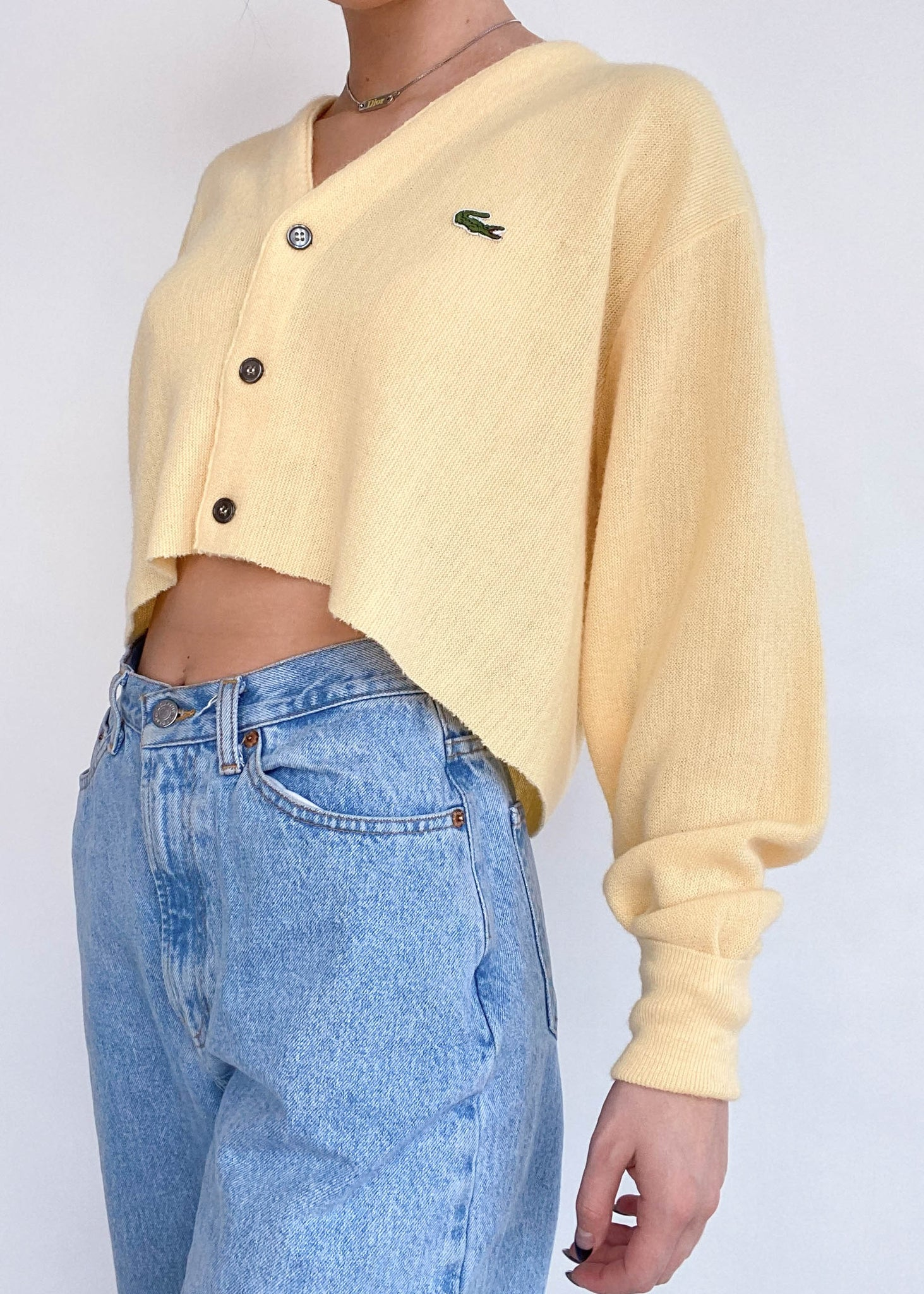 Lemonade Lacoste Cardigan