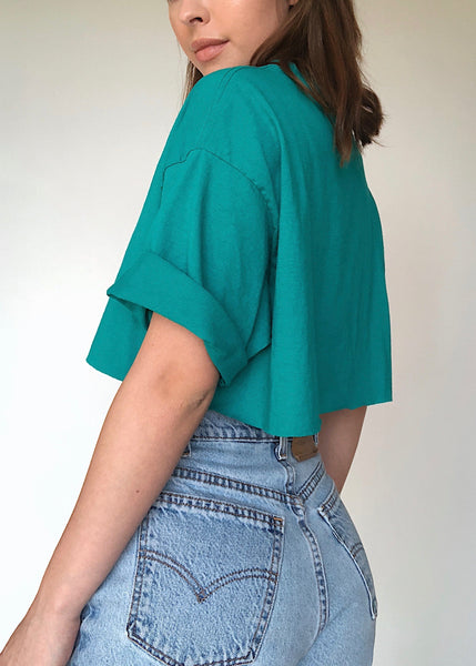 Teal Guess Tee