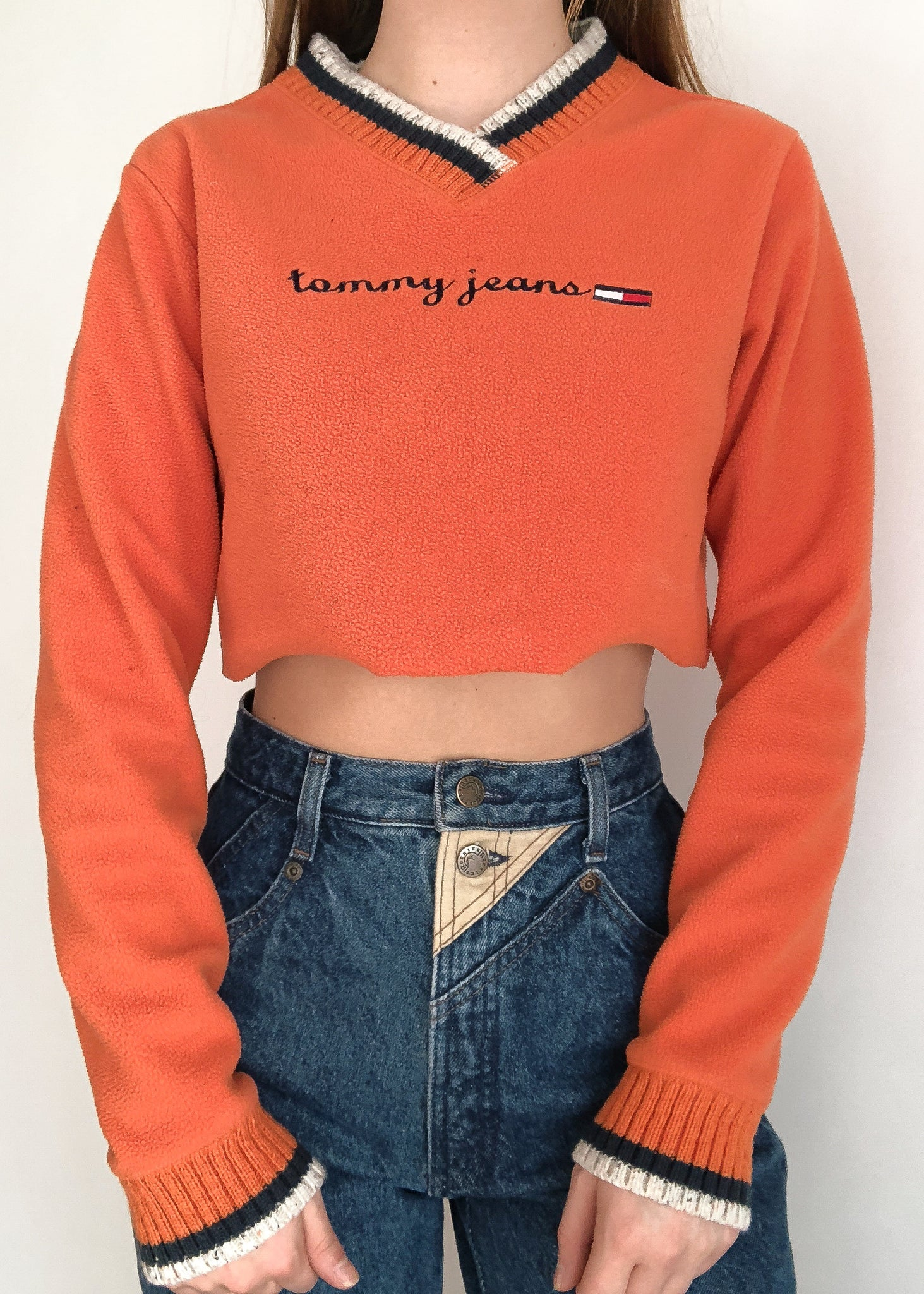 Orange Tommy Fleece