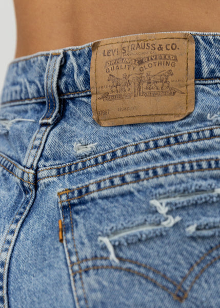 Levi's Shred Shorts