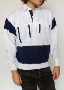 Structure Polo Pullover