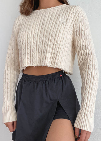Crema Cable Knit