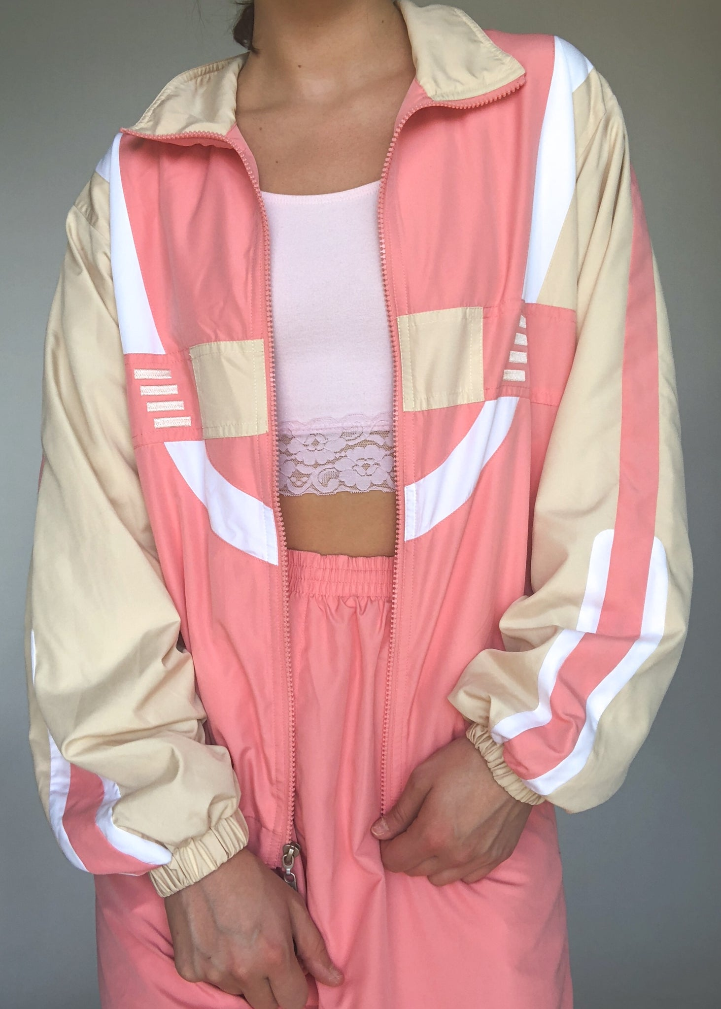 Peaches n Cream Tracksuit
