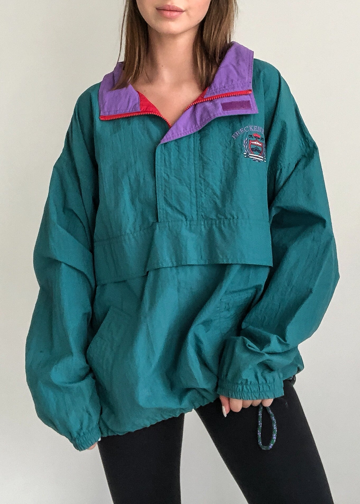 80s Action Windbreaker