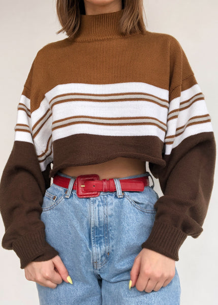 Caramel Mocha Turtleneck