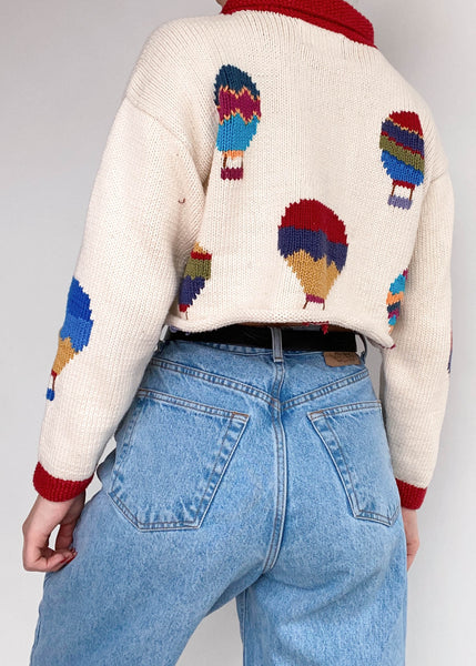 Balloon Festival Sweater