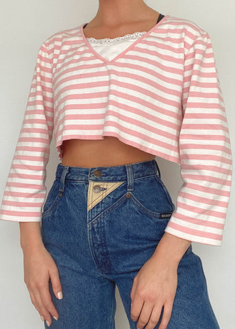 Katie y2k Layered Top