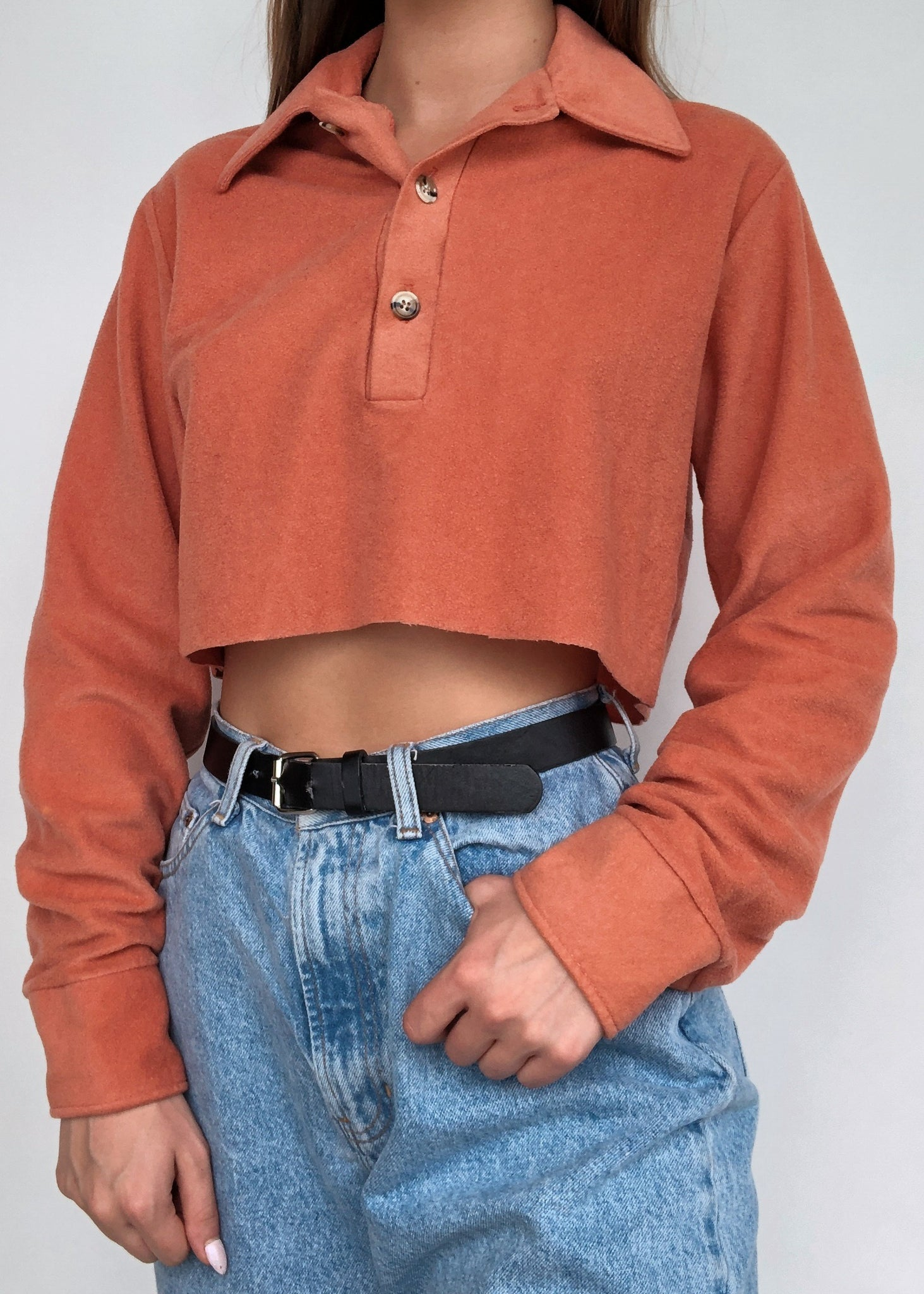70's Burnt Orange Polo