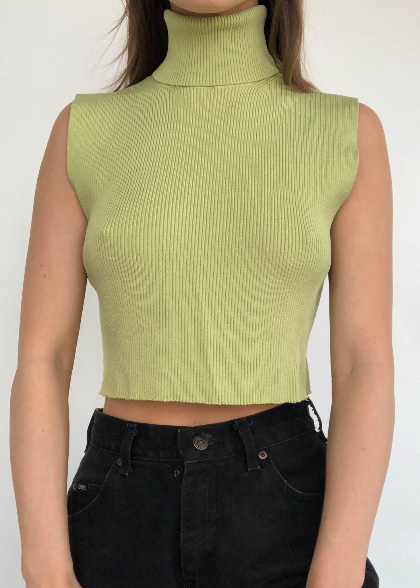 Citrus Turtleneck Tank