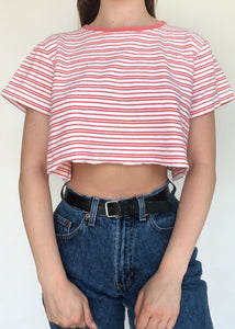 Salmon Stripe Tee
