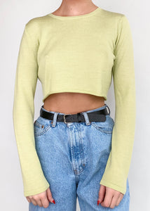 Lime Long Sleeve Knit