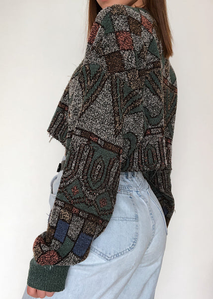 Amazonian Crop Sweater