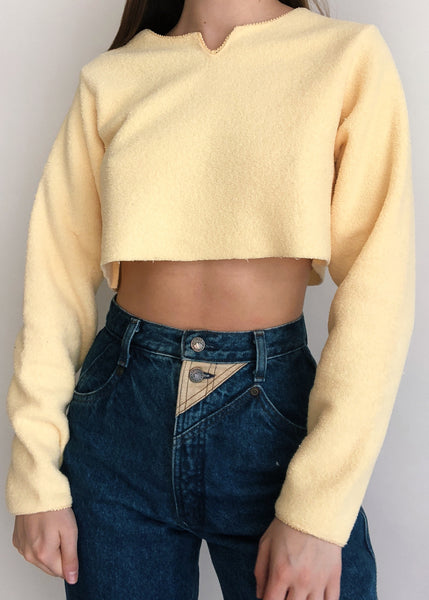 Yellow Peep Fleece